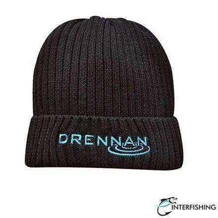 Drennan Knitted Beanie - Black