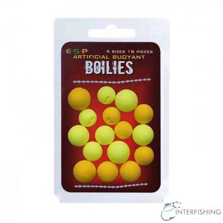 ESP Buoyant Boilies Yellow-Fluoyellow