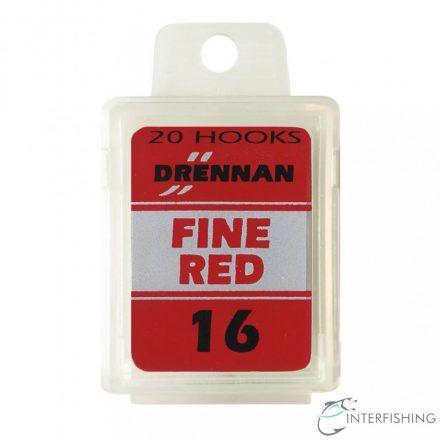 Drennan Fine Red 16 horog